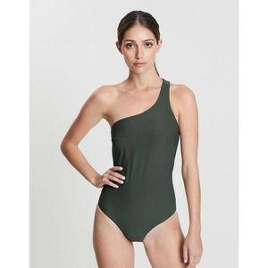Bondi Born Chloe One Shoulder One Piece Swimsuit
